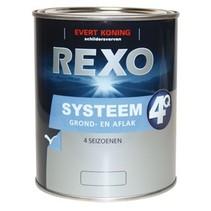 Rexo 4Q Systeem Grond/Aflak WIT (klik hier voor de inhoud)