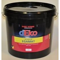 Deko Egamat Interieur muurverf WIT (De allerbeste muurverf !)