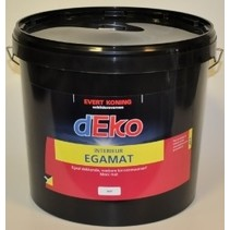 Deko Egamat Interior wall paint WHITE (The very best wall paint!)