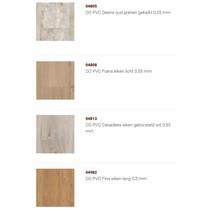 ONDERNEMEND: Collectie PVC in trendbewuste kleuren met V groef rondom [klik hier]
