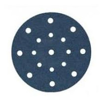 Siatop 1815 - 17 hole Sandpaper for 150mm Rotex (choose your grain)