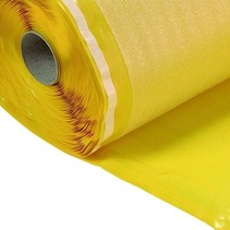 Spemi Yellow 2mm Base Underfloor roll of 15m2