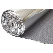 Heatblok 6mm voor laminaat en planken rol van 25m2