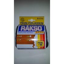 2 tampons de polissage extra (laine d'acier fine 00)