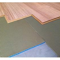 Sous-couche de plancher bleu de 2mm par rouleau de 15m2 NOUVEAU