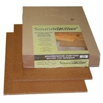Soundkiller 15mm + 10db for parquet 4,06m2 per pack