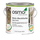 Osmo Buitenhout Peinture pour bois opaque 2104 BLANC (Produit parfait pour les portes et fenêtres!)