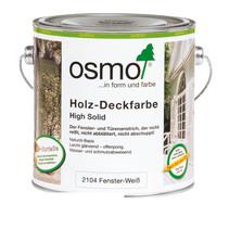 Peinture pour bois opaque 2104 BLANC (Produit parfait pour les portes et fenêtres!)