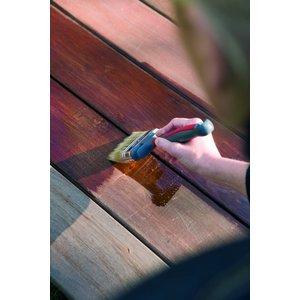 Woca Exterior Oil BANGKIRAI for Terrace, Furniture, Log Cabin etc.