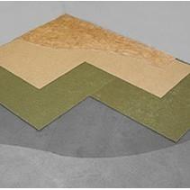Sous-couche double Marathon pour vinyle et PVC 5,31m2 en costume