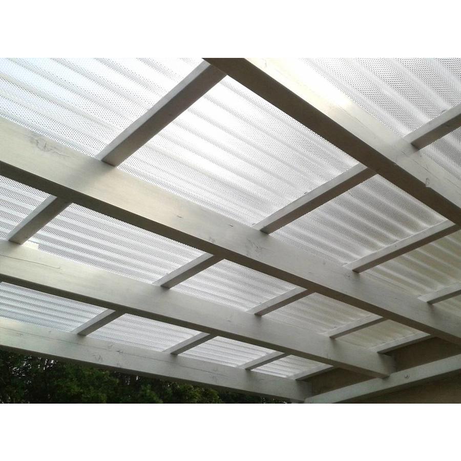 Acryl Wellplatten 76/18 - Farblos Wabenstruktur-2
