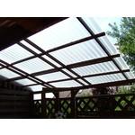 Acryl Wellplatten 76/18 - Graphit Perle-Struktur - HIGHLUX®