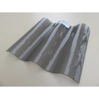 Acryl Wellplatten 76/18 - Graphit Perle