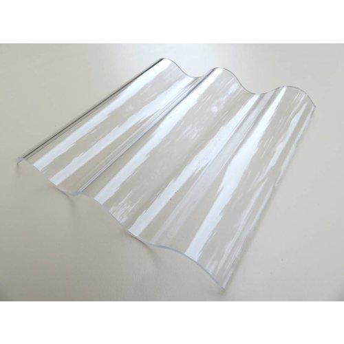 Acryl Wellplatten 76/18 - Farblos Glatt - HIGHLUX®