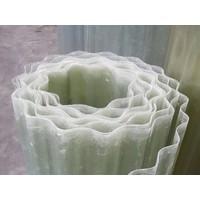thumb-Wellpolyester Rollenware - Transparent-Natur - Gfk Wellplastik - Wellbahnen-3