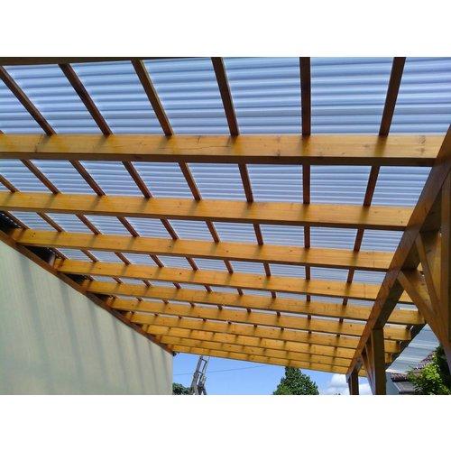 PVC Trapezplatten 70/18 - Rauchfarben - SOLLUX®