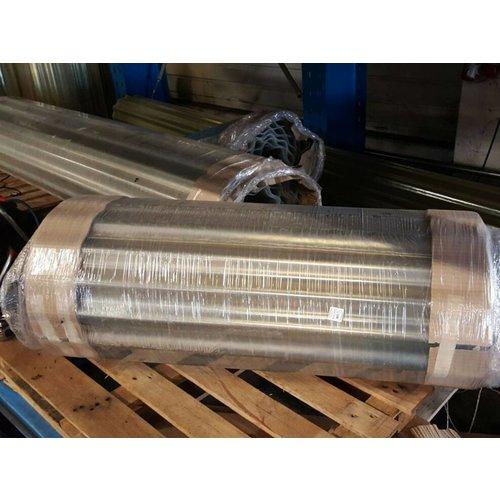 Wellpolyester Rollenware - bis zu 20 Meter am Stück - Transparent-Natur - Gfk Wellplastik