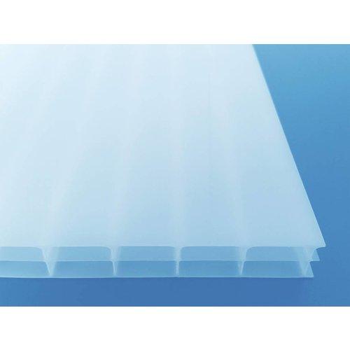 16mm PC Stegplatten - Opal-weiß- MARLON® Dreifachstegplatten