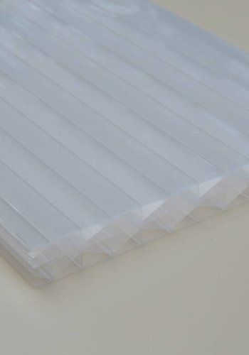 16mm PC Stegplatten Opal-weiß X-Wall