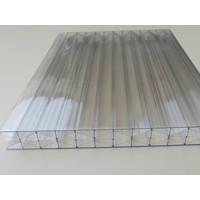 16mm PC Stegplatten Glasklar X-Wall