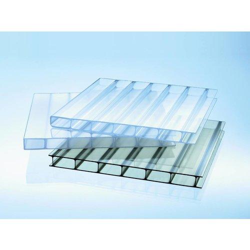 16mm Acryl Stegplatten - Glasklar - HIGHLUX®