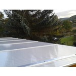 16mm Acryl Stegplatten - Opal-weiß - HIGHLUX®