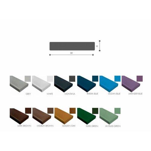 NOMAWOOD® Kunststoffpaneele BL8 - 4600x120x22mm - Kunststoffbretter