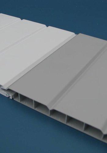 PVC Wand- und Deckenpaneele - Weiß oder Grau