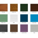 NOMAWOOD® Kunststoffpaneele BL1 - 4600x90x22mm - Kunststoffbretter