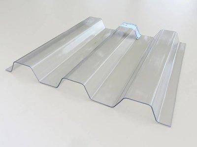 PVC Trapezplatten 70/18 - Farblos -Ondex HR®