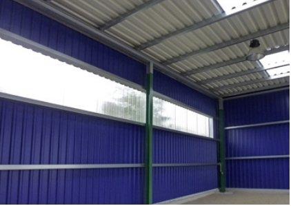 PVC Profilplatten für Haus, Hof & Garten – Renolit Ondex SOLLUX®
