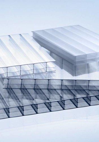 16mm PC Stegplatten - Opal-weiß- MARLON® Dreifach