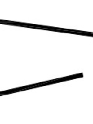 Abschluss-Profil für Wand-Deckenpaneele PVC