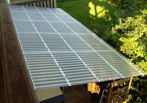 Acryl Wellplatten – Terrasse, Carport & Co.
