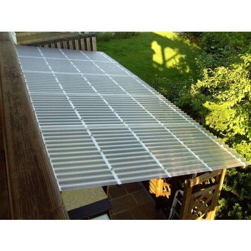 Acryl Wellplatten 76/18 - Sunstop Weiß - HIGHLUX®