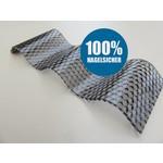 Polycarbonat Wellplatten 76/18 - Graphit Wabenstruktur - MARLON® CS Diamond - 100% HAGELSICHER