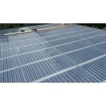PVC Trapezplatten 70/18 - Rauchfarben - Ondex HR®