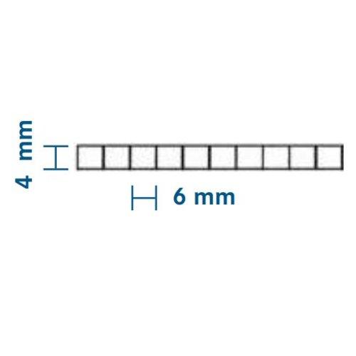 4mm PC Stegplatten - Farblos - WILKULUX®