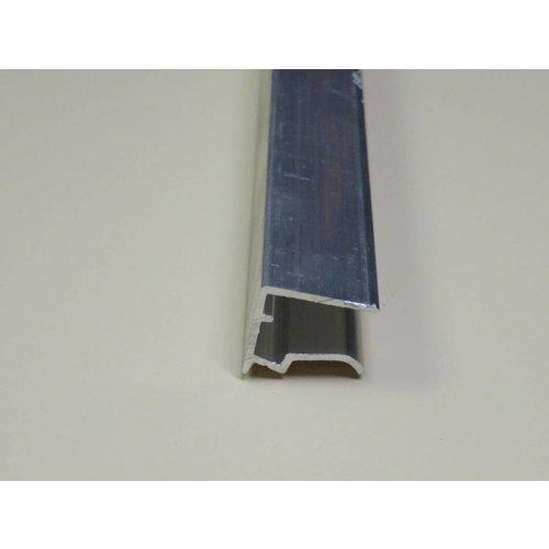 16mm ALU-Abschlussprofil mit Tropkante - Unterseite