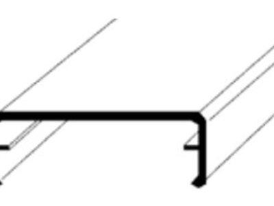 ALU-Klemmdeckel blank