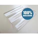 Polycarbonat Wellplatten 76/18 - Farblos Glatt - MARLON® CS Diamond - 100% HAGELSICHER