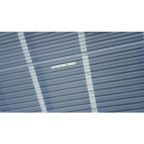 PVC Trapezplatten 207/35 - Farblos -Ondex HR®