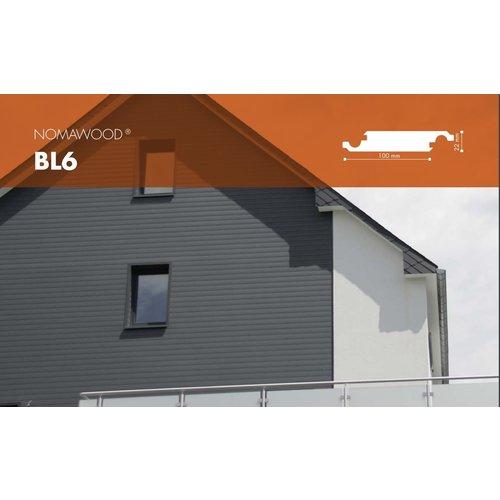 NOMAWOOD® Paneele BL6 - 4600x100x22mm