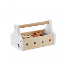 KIDS CONCEPT White Tool Box