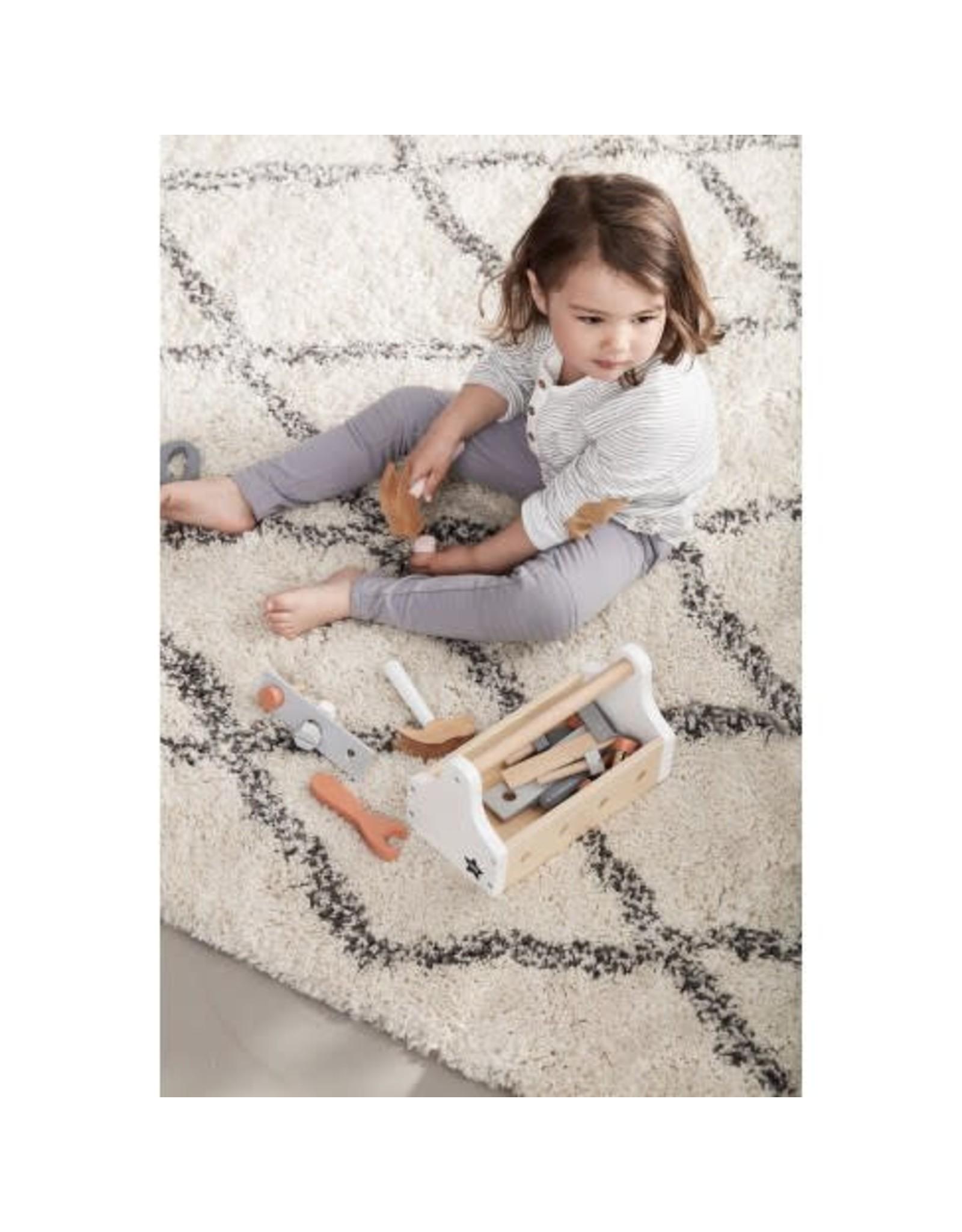KIDS CONCEPT White Tool Box