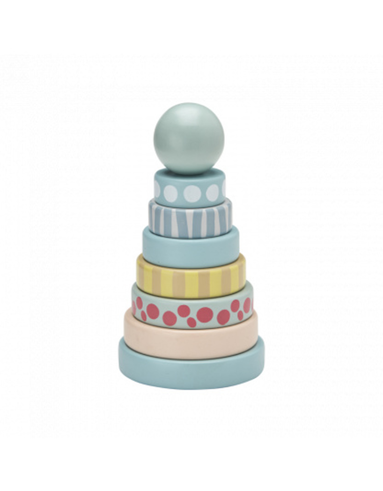 KIDS CONCEPT Green Stacking Rings
