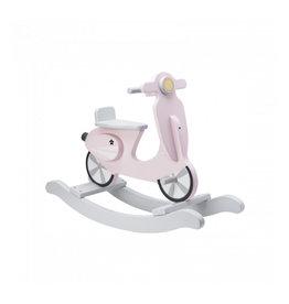 Rocking Scooter Pink/White