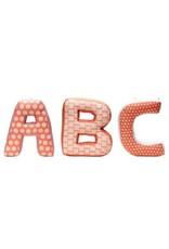 ABC Cushions Pink Multi