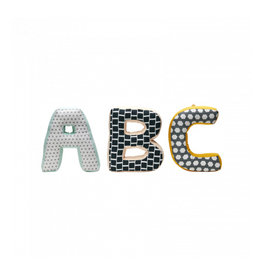 KIDS CONCEPT Green ABC Cushions