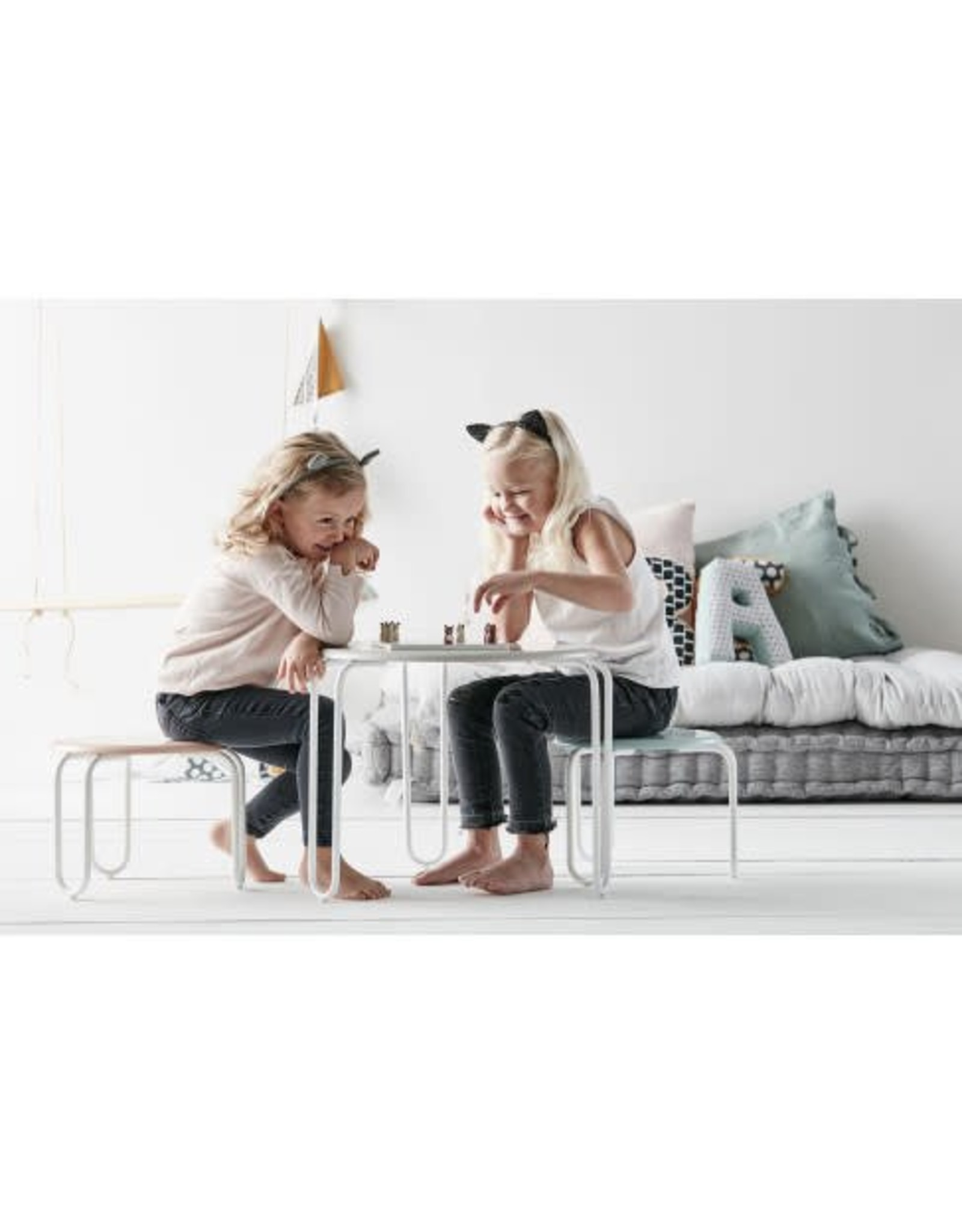 KIDS CONCEPT Green ABC Cushions